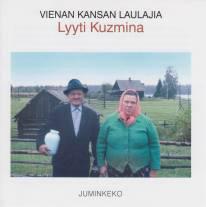 Vienan kansan laulajia: Lyyti Kuzmina. Kuva CD-levyn kannesta.