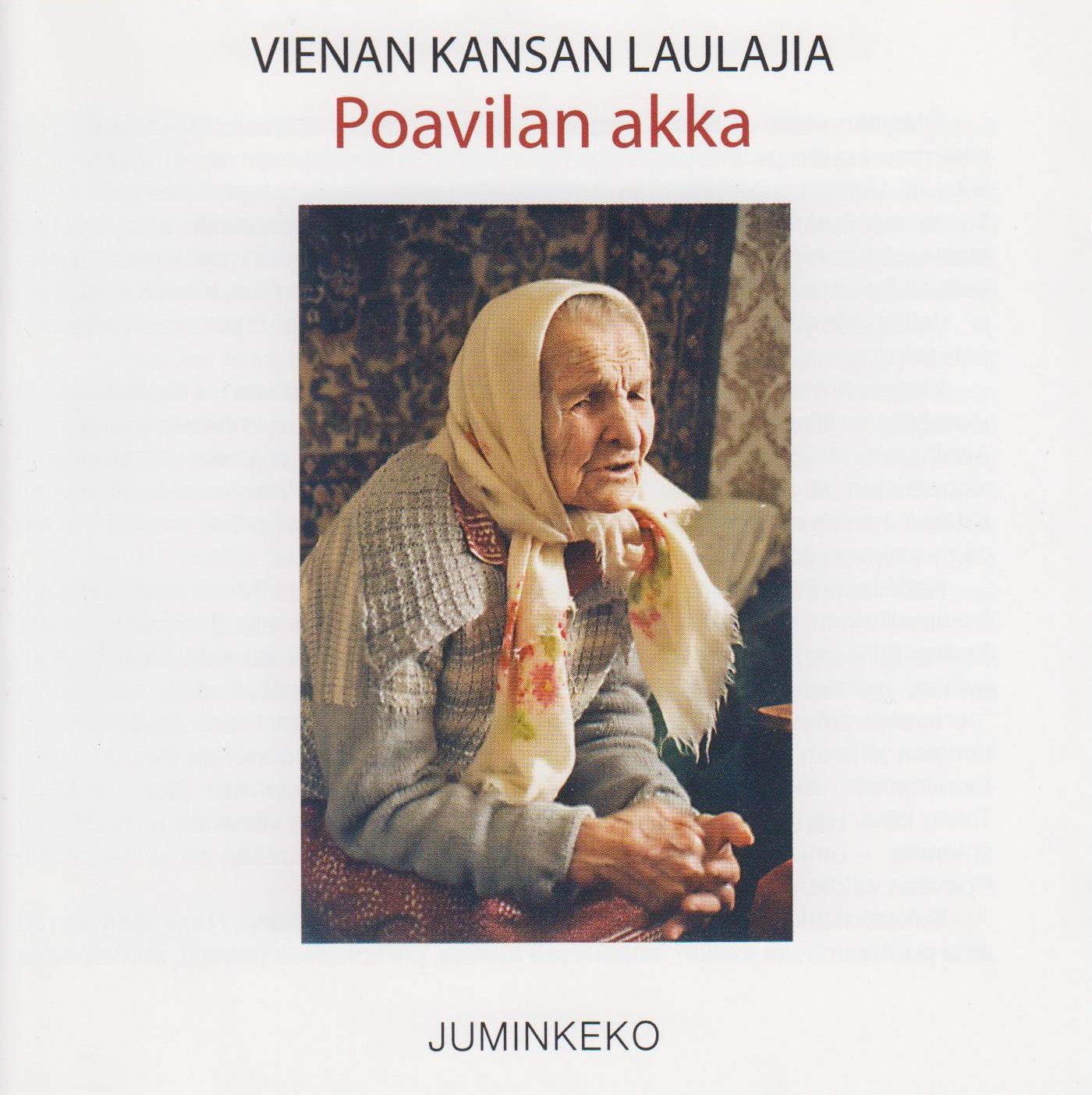 Vienan kansan laulajia: Poavilan akka. Kuva cd-levyn kannesta.