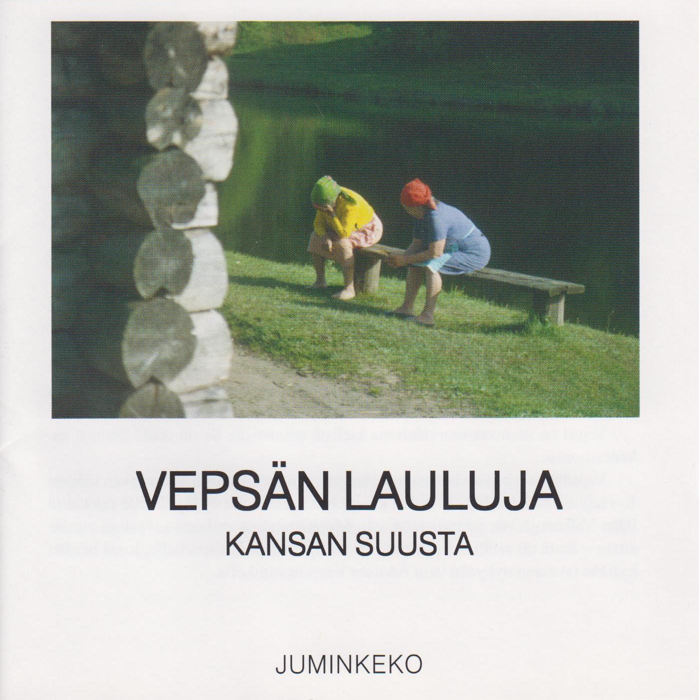 Vepsän lauluja kansan suusta. Kuva cd-levyn kannesta.