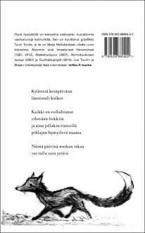 Maija Myllykankaan Hyviä hyssyköitä -runokirjan takakansi.