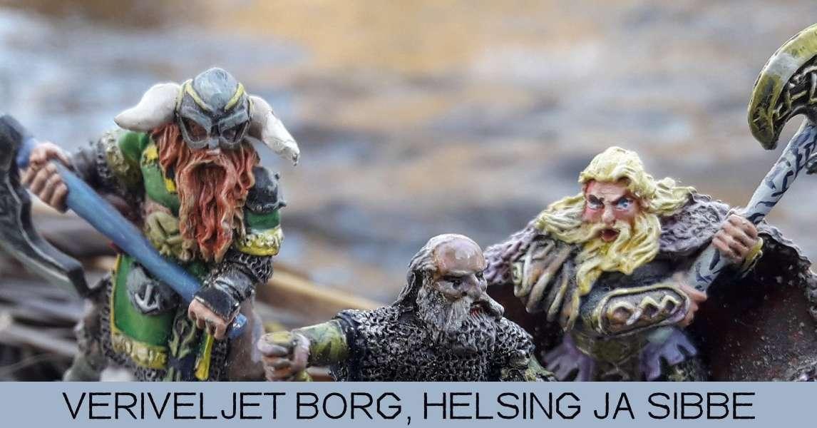 Veriveljet Borg, Sibbe ja Helsing